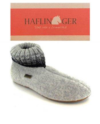 Haflinger Slipper Boot Iris Stone