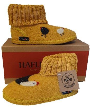 Haflinger Children's Slipper Boot Chicky Sun