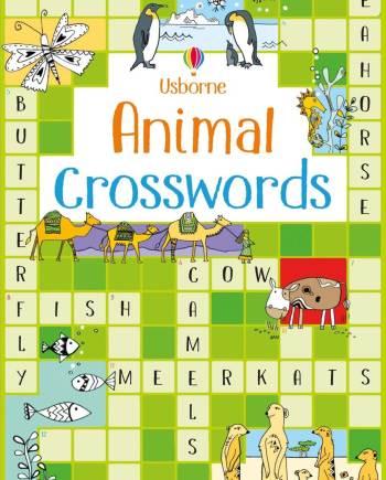 Animal crosswords Book