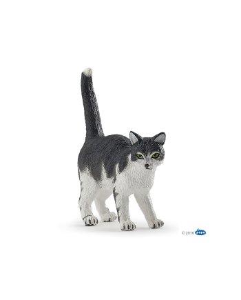 Papo Black and white cat