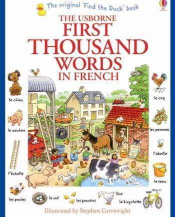 First thousand words in French Book