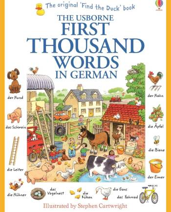 First thousand words in German Book