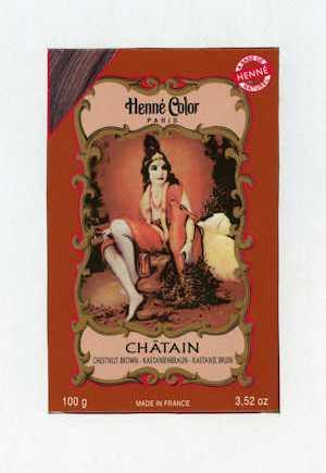 Henna Chestnut Brown Colouring & Conditioning Powder