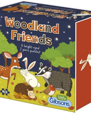 Little Woodland Friends Jigsaw Puzzle