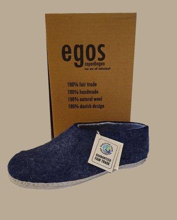 Egos Classic Blue Mule Slipper