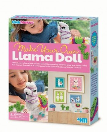 4M Make Your Own Llama Doll