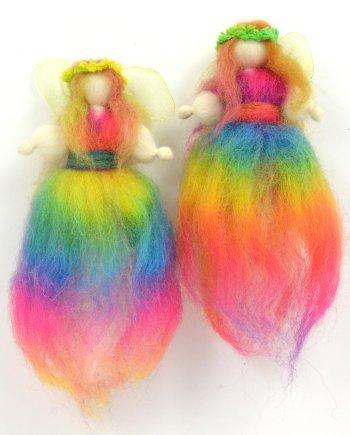 Wool Rainbow Fairy