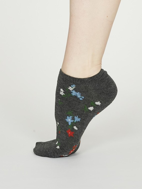 Thought Flowery Sock