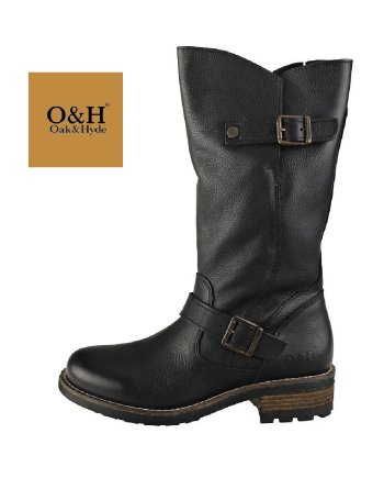 Oak & Hyde Crest Bombain Women's Boots Black