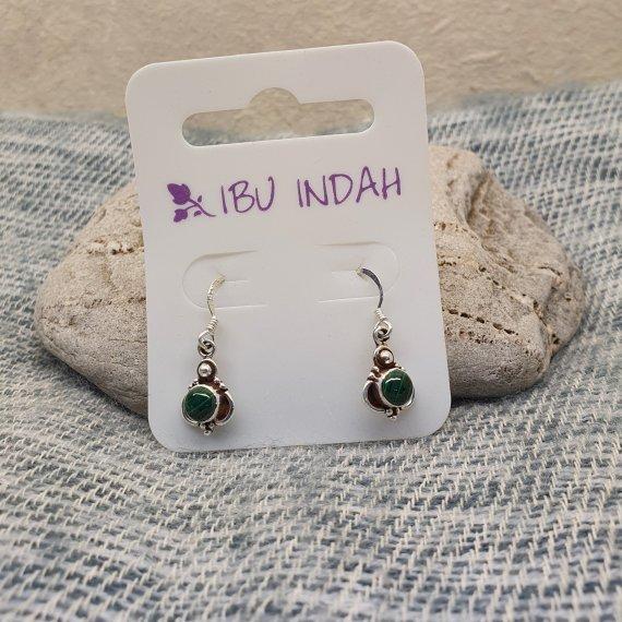 Ibu Indah 216 Silver Earrings