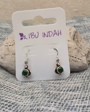 Ibu Indah 216 Silver Earrings