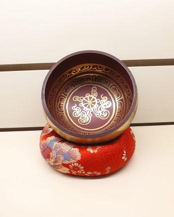 12cm Singing Bowl in Violet