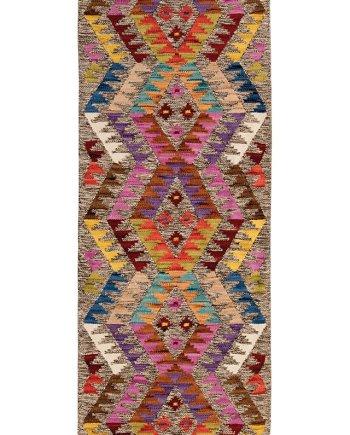 Namaste Aztec Kilim Rug 75 x 200cm