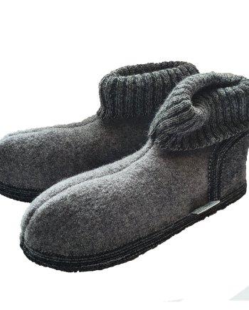 Wesenjak Austrian Slipper Boot - Grey