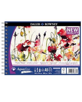 Daler Rowney Aquafine WC Texture Spiral Travelbook