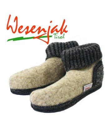 Wesenjak Austrian Slipper Boot Natural