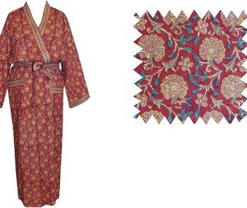 Dressing Gown Kimono Persian