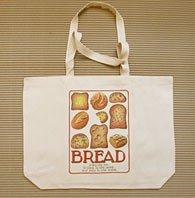 Simon Drew Bread Canvas Bag