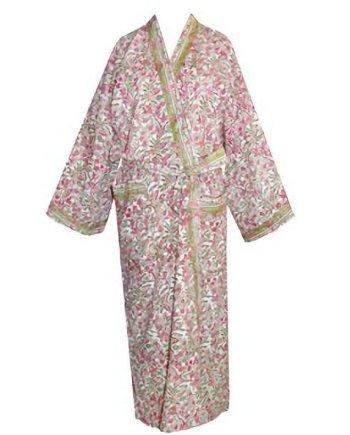 Dressing Gown Kimono Olive Rosemoor