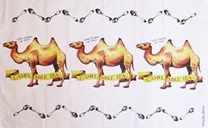 Simon Drew Camel Mile Tea Towel
