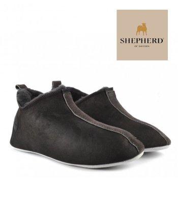 Shepherd Henrik Unisex Soft Sole Sheepskin Slipper Antique Asphalt