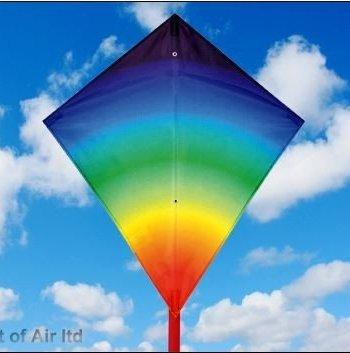 Midi Diamond Rainbow Kite