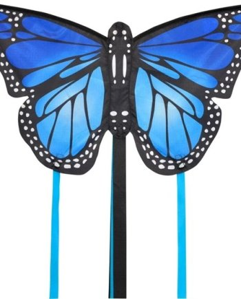 Monarch Butterfly Small Kite Blue