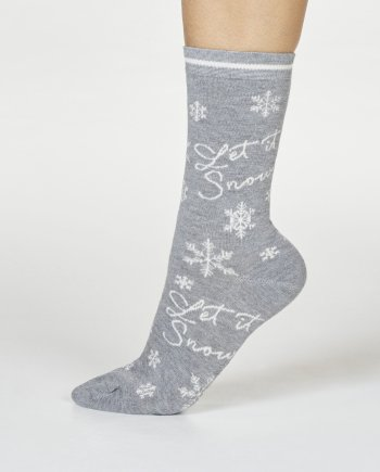 Thought Bobbie Snow Sock