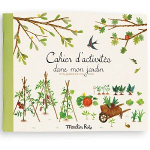 Garden Activity book by Moulin Roty