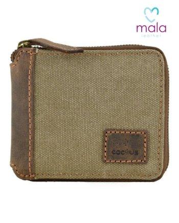 Mala Cactus Zip Around Wallet