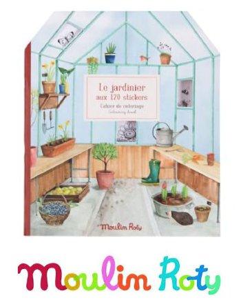 Colour & Sticker greenhouse Book