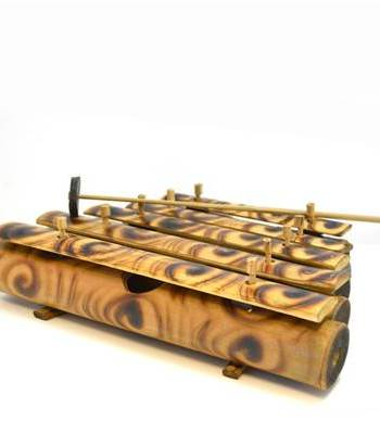Bamboo glockenspiel with Bamboo bars