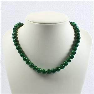 Round Malachite Beads
