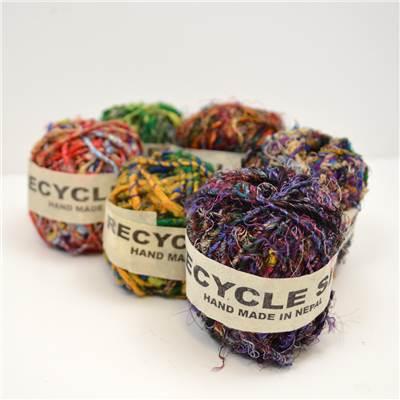Recycled Silk Twine
