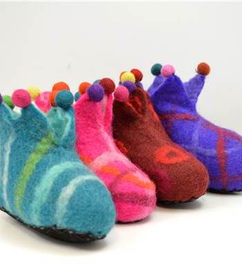 Children's Jester slippers