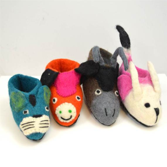 Children's Animal Slippers