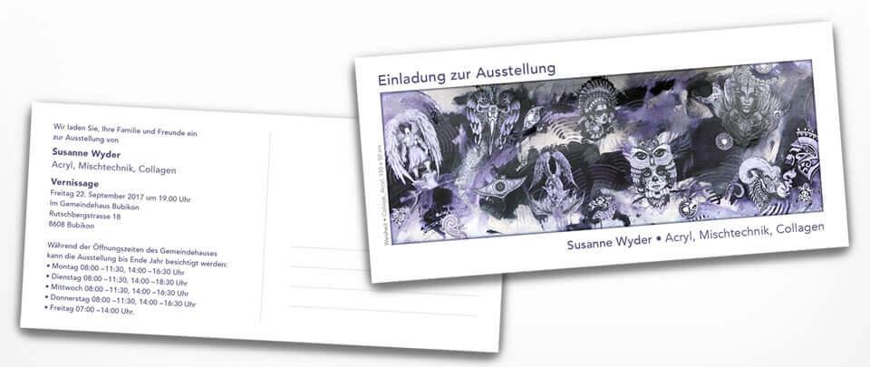 Graphic Design Einladungskarte