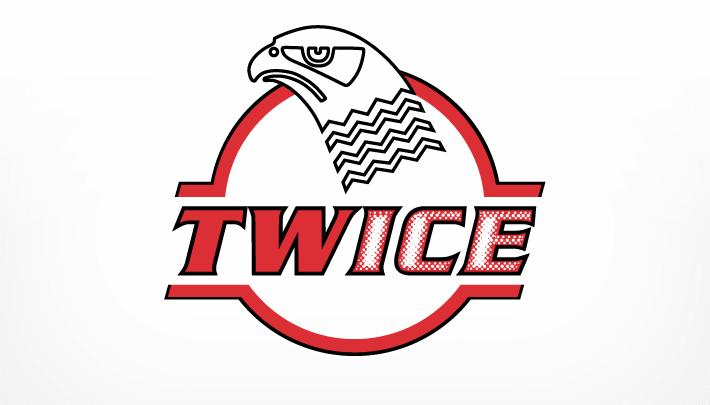 Logo Design für TWICE, ein neues Getränk