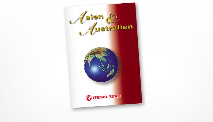 Titelseite Prospekt Asien & Australien