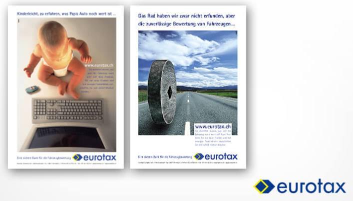 Graphic Design Anzeigekampagne