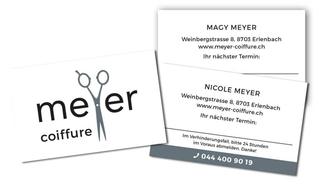 Graphic Design Visitenkarten
