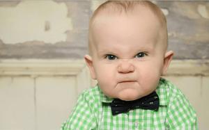sifat sunda muka bayi marah lucu