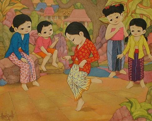 permainan tradisional sunda jawa barat sunda manda engklek
