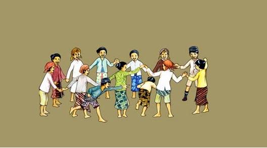 permainan tradisional sunda jawa barat hahayaman