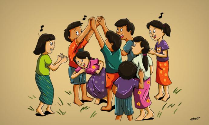 42 Permainan Tradisional Sunda Jawa Barat, Terlengkap