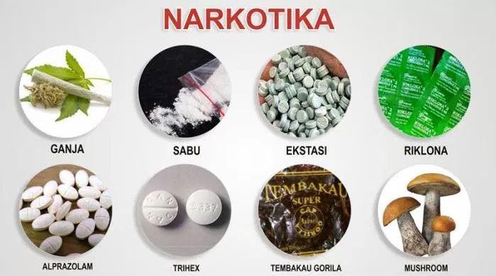 jenis jenis narkotika