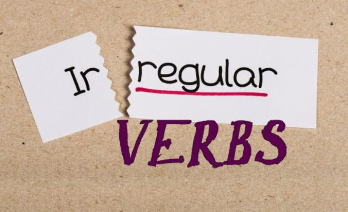 regular verb