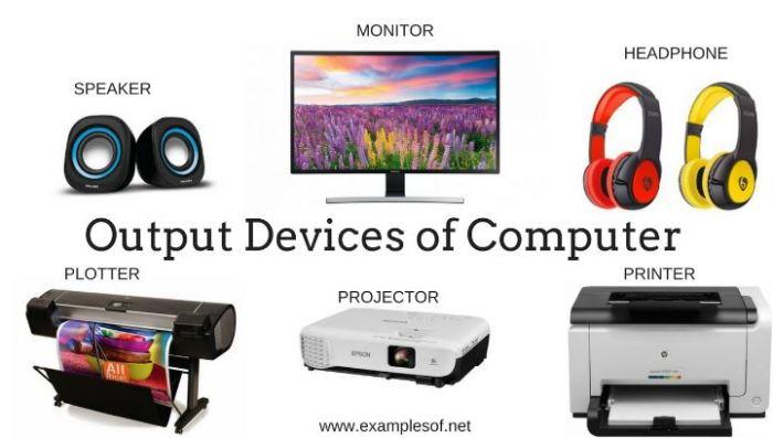 perangkat output komputer