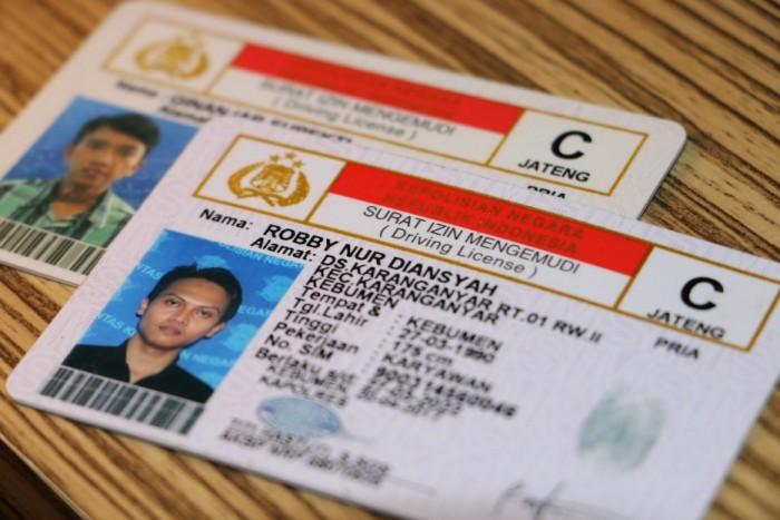 surat izin mengemudi