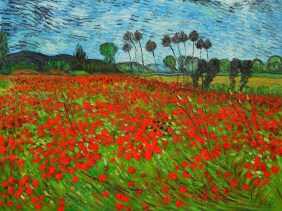 Field of Poppies by Vincent Van Gogh OSA405